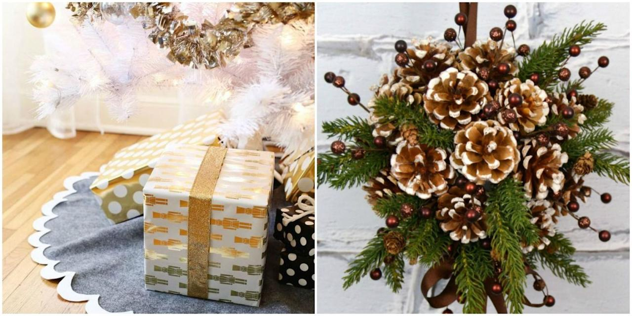 19 diy christmas decorations that look so elegant for Decorate christmas ideas your home