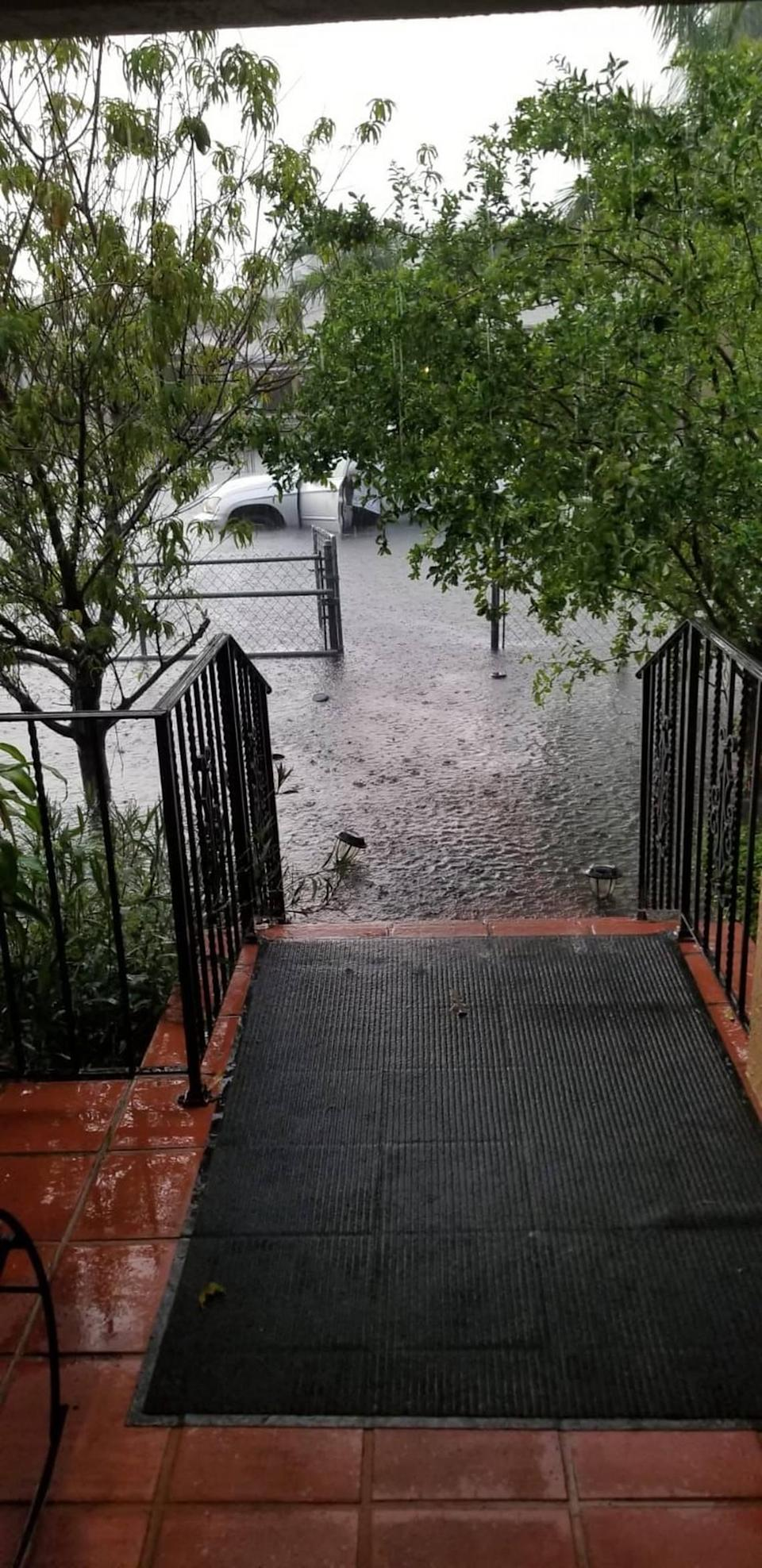 A strong rainstorm is enough to flood 4th Street in Flagami, and residents want the city to fix the problems soon.