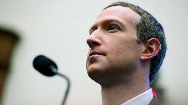 PHOTO: Facebook CEO Mark Zuckerberg testifies before a House Financial Services Committee hearing on Capitol Hill in Washington, Oct. 23, 2019. (Andrew Harnik/AP)