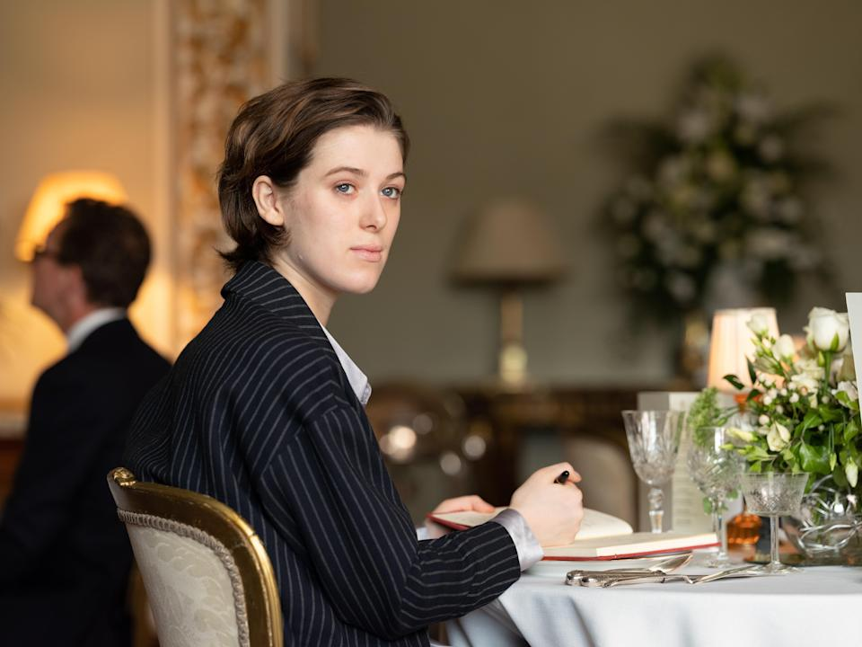 Honor Swinton Byrne in The Souvenir Part II (Picturehouse)