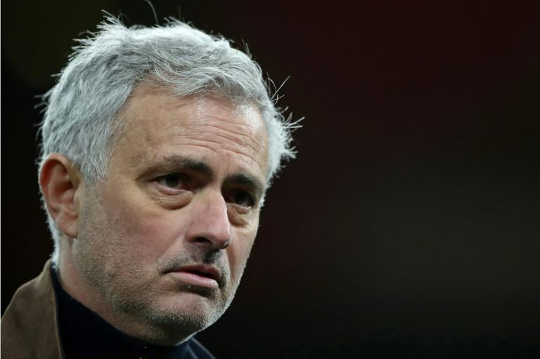 Tottenham manager Jose Mourinho is under mounting pressure