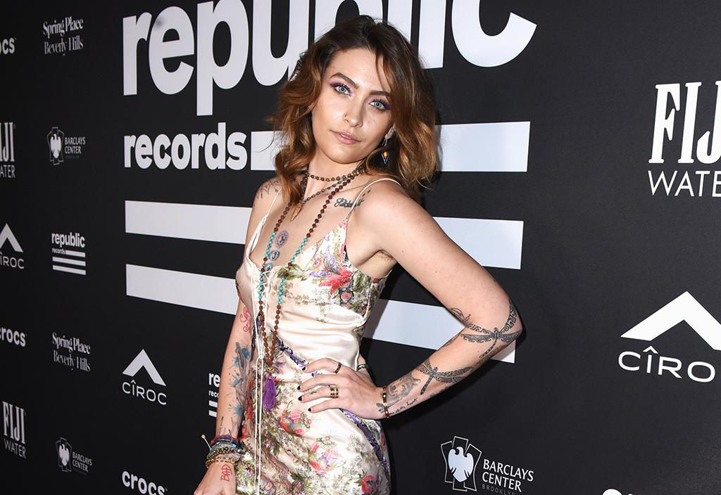 Paris Jackson at Republic Records's Grammys afterparty.