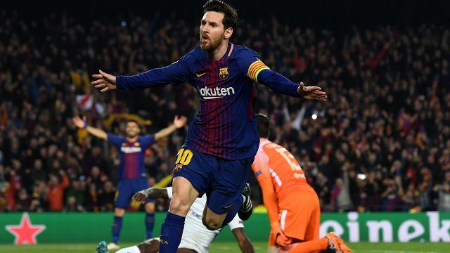 Messi the magician. Image: Getty
