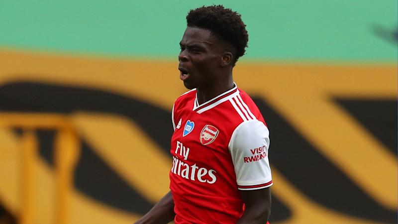 'It was a week to remember' - Saka delighted to mark new Arsenal contract with first Premier League goal