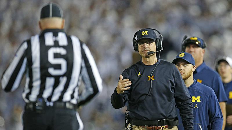 Michigan is fine with Jim Harbaugh, but that's not good enough now