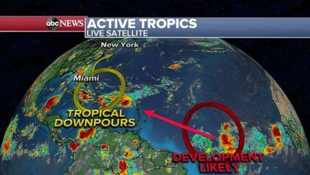 PHOTO: Activity in the Atlantic Ocean could lead to more precipitation in the Southeast. (ABC News)