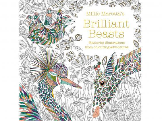 (With intricate designs that require concentration, this will keep kids quiet for hours (Waterstones)