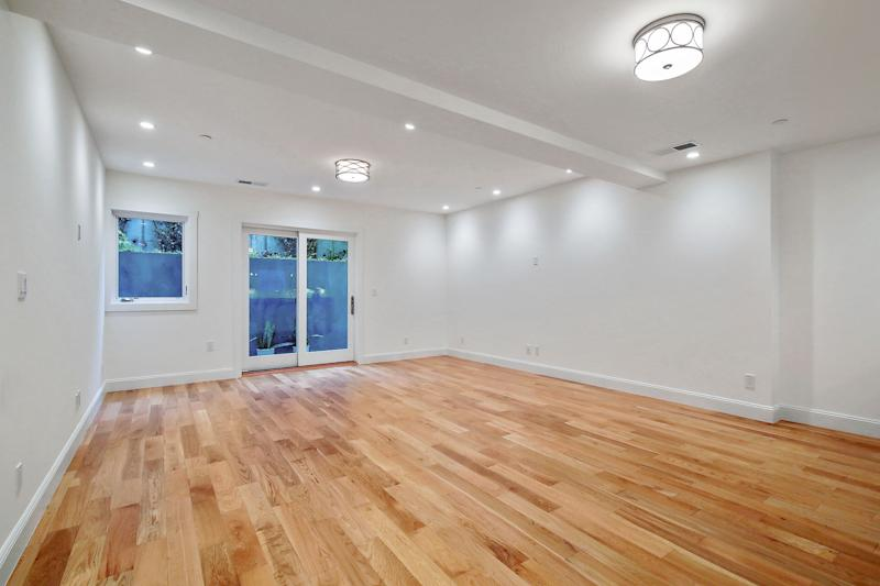 Inside the living and bedroom area of the converted unit at 3080 Jackson St. Source: Nina Hatvany