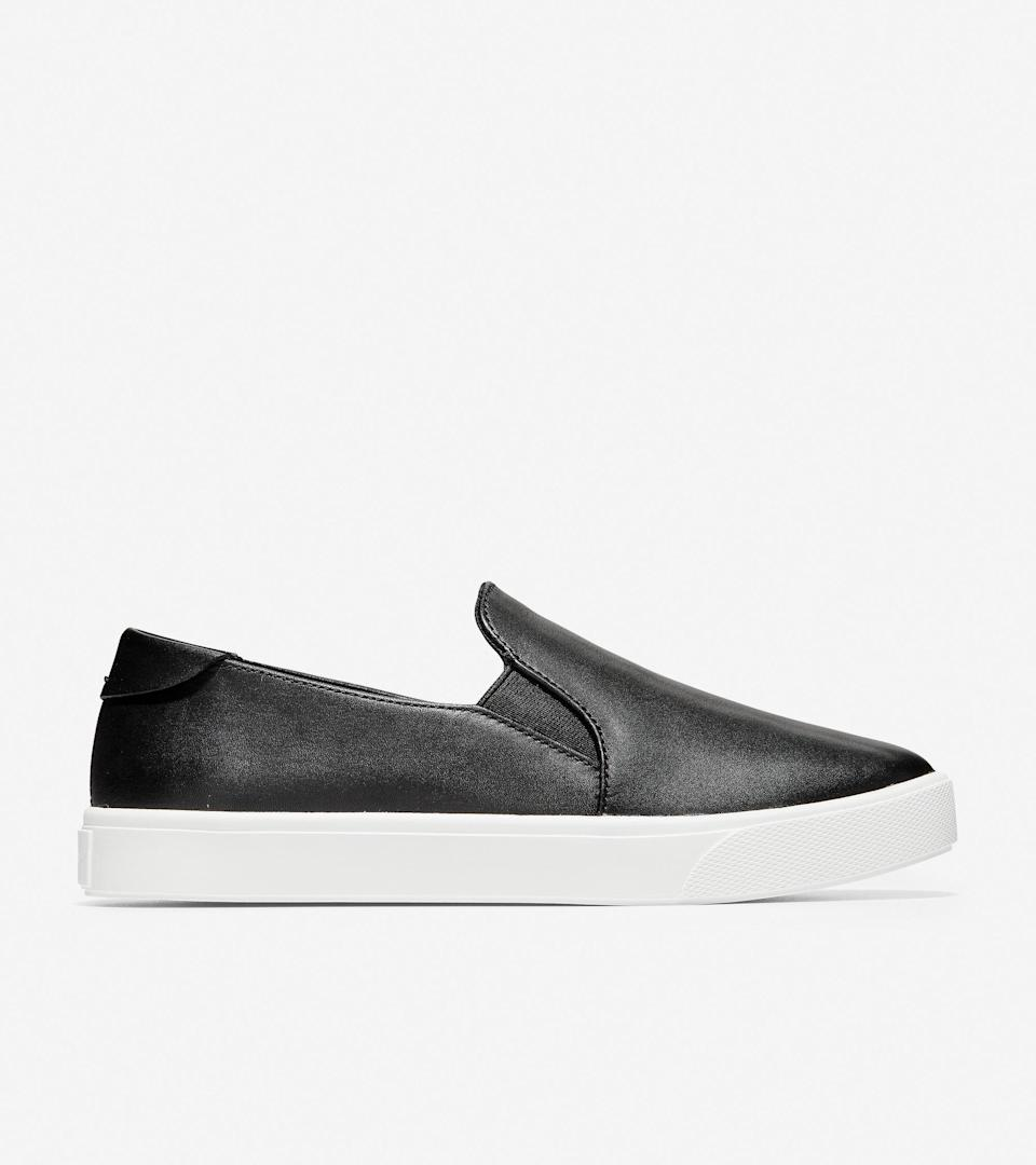 """<br><br><strong>Cole Haan</strong> GrandPrø Spectator Slip-On Sneaker, $, available at <a href=""""https://go.skimresources.com/?id=30283X879131&url=https%3A%2F%2Ffave.co%2F2TmVMEG"""" rel=""""nofollow noopener"""" target=""""_blank"""" data-ylk=""""slk:Cole Haan"""" class=""""link rapid-noclick-resp"""">Cole Haan</a>"""