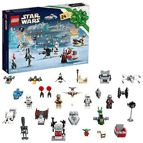 """<p><strong>LEGO</strong></p><p>amazon.com</p><p><strong>$39.99</strong></p><p><a href=""""https://www.amazon.com/dp/B092ZYNY42?tag=syn-yahoo-20&ascsubtag=%5Bartid%7C10055.g.29624061%5Bsrc%7Cyahoo-us"""" rel=""""nofollow noopener"""" target=""""_blank"""" data-ylk=""""slk:Shop Now"""" class=""""link rapid-noclick-resp"""">Shop Now</a></p><p>If you're interested in the advent calendar, you'd better act fast — it sells out every year. Each day leading up to Christmas, you get a new surprise Star Wars item, including small ships to build or holiday-themed minifigs. (Grogu in Christmas jammies!) <em>Ages 6+</em></p><p><strong>RELATED: </strong><a href=""""https://www.goodhousekeeping.com/childrens-products/toy-reviews/g28939299/toy-advent-calendars-for-kids/"""" rel=""""nofollow noopener"""" target=""""_blank"""" data-ylk=""""slk:The Best Toy Advent Calendars for Kids to Get Families Excited About the Run-Up to Christmas"""" class=""""link rapid-noclick-resp"""">The Best Toy Advent Calendars for Kids to Get Families Excited About the Run-Up to Christmas</a></p>"""