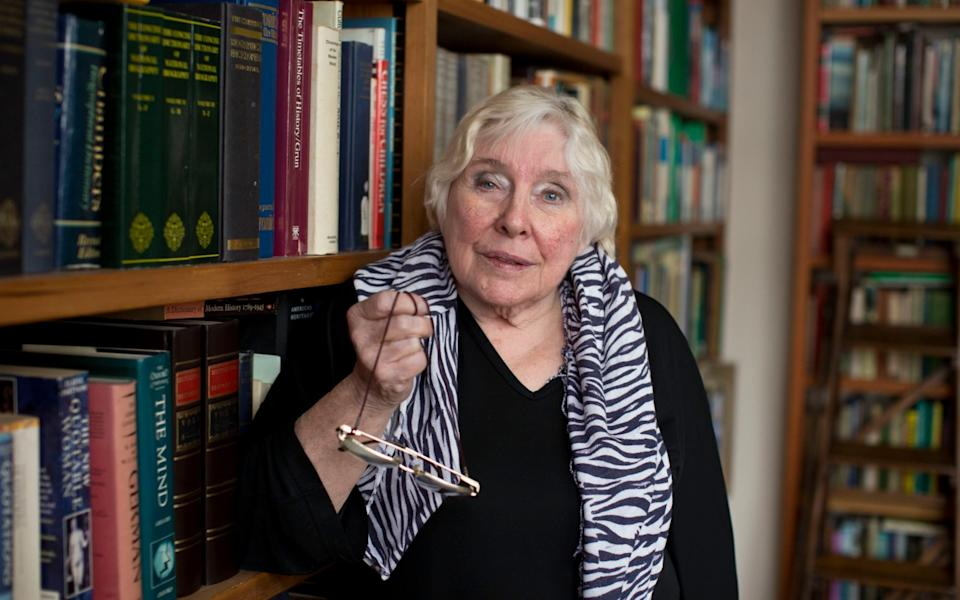 """Fay Weldon: """"As people get older it gets more and more difficult to marry"""" - Heathcliff O'Malley for The Telegraph"""