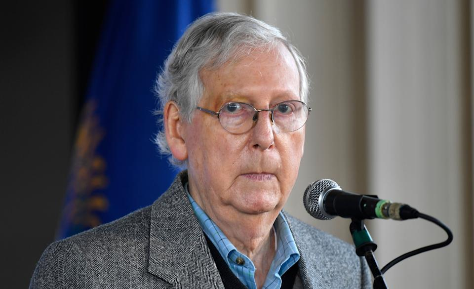 Mitch McConnell (R-Ky.) may very well still be majority leader under a Biden administration. (Photo: Timothy D. Easley/Associated Press)