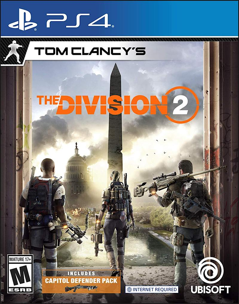 Go on the front lines with Tom Clancy's The Division 2 for PS4. (Photo: Amazon)