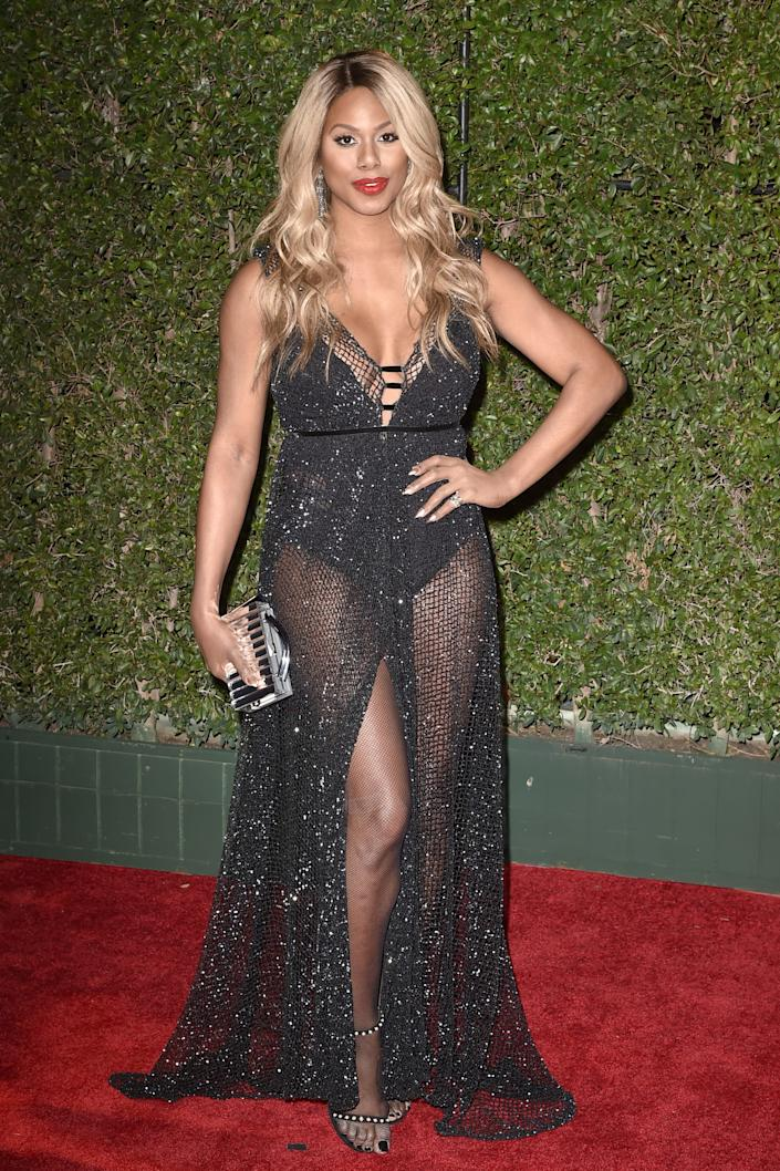 laverne cox 2018 NAACP image awards