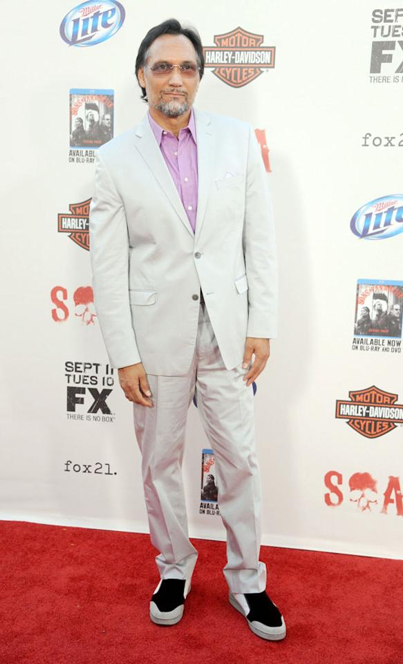 "Jimmy Smits attends the ""Sons of Anarchy"" Season 5 premiere screening at Westwood Village on September 8, 2012 in Los Angeles, California."