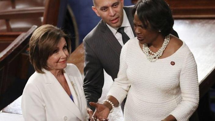 Nancy Pelosi Hakeem Jeffries Democratic thegrio.com