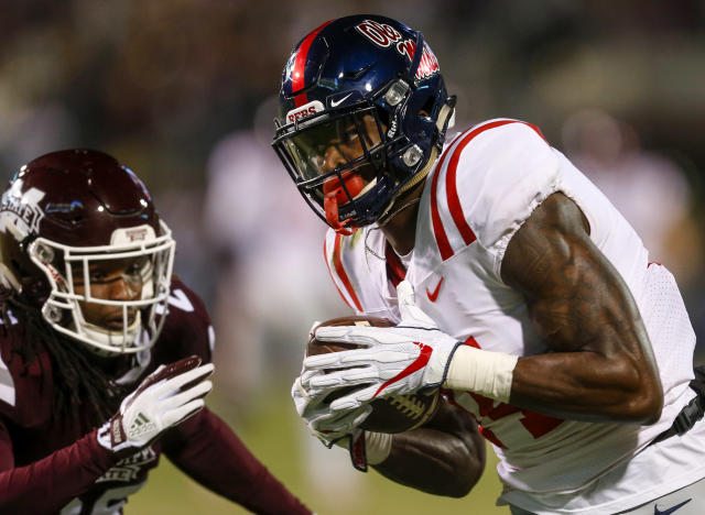 Mississippi beat Mississippi State in the 2017 Egg Bowl. (Getty)