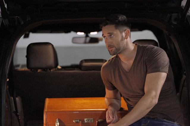 Ryan Eggold as Tom Keen (Photo: Will Hart/NBC)