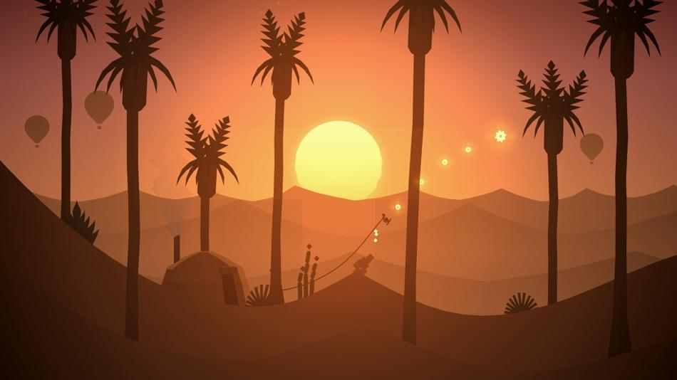 Ditch the slopes and head for the dunes as you surf on sand in 'Alto's Odyssey.'