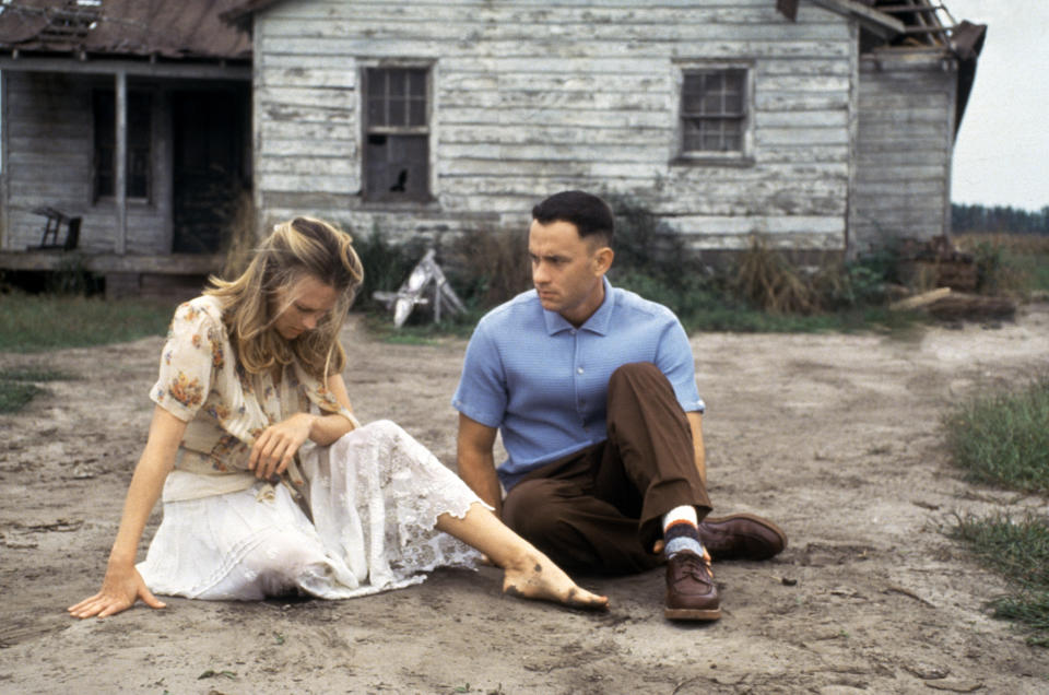 'Forrest Gump' 1994 directed by Robert Zemeckis. (Photo by Sunset Boulevard/Getty Images)