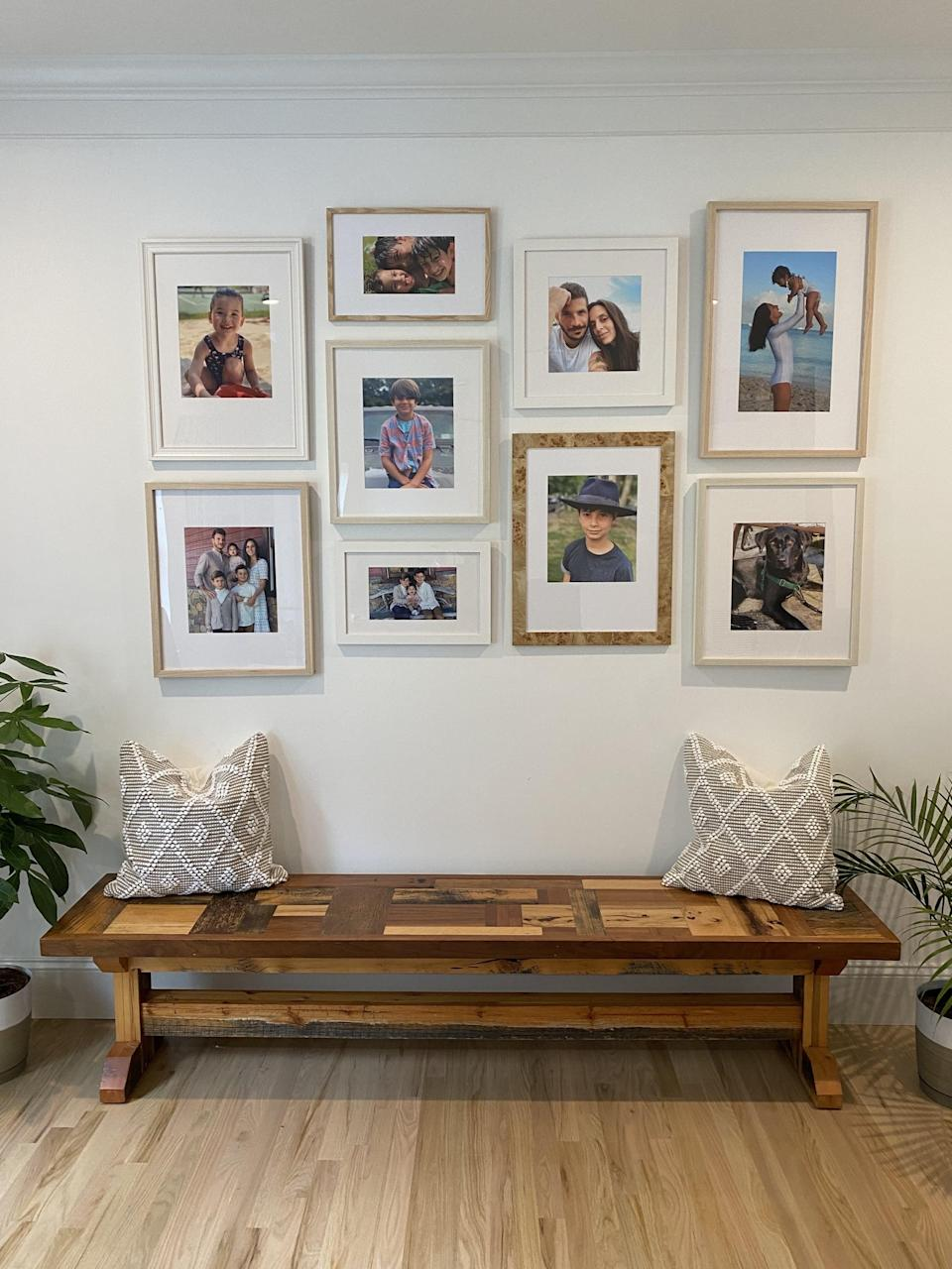 Completed Gallery Wall