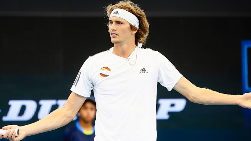Alexander Zverev's serve is coming under the microscope after some gentle trolling from Belinda Bencic on Twitter.