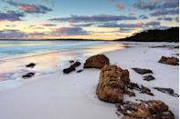 <p>Renowned for its privacy and untouched beauty, Hyams beach received a top spot in the round-up. <em>[Photo: Getty]</em> </p>