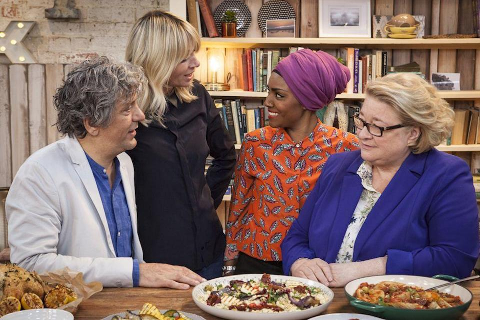 """<p>Does your family have what it takes to win a cooking show? Families' culinary skills (and bonds) are tested in this BBC cooking series. The challenges, as a result, adhere to a familial theme. In one of the episodes, competitors have to prepare a meal in their own kitchen. The finale is comprised of making enough food for a big party.</p><p><a class=""""link rapid-noclick-resp"""" href=""""https://www.netflix.com/search?q=cooking&jbv=80186090"""" rel=""""nofollow noopener"""" target=""""_blank"""" data-ylk=""""slk:Watch Now"""">Watch Now</a></p>"""