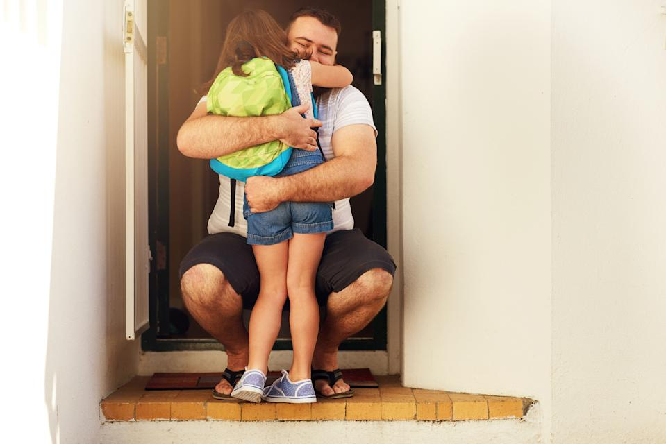 Co-parenting is proving tricky for many parents during coronavirus outbreak. (Getty Images)