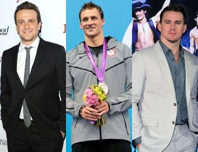 Jason Segel / Ryan Lochte / Channing Tatum