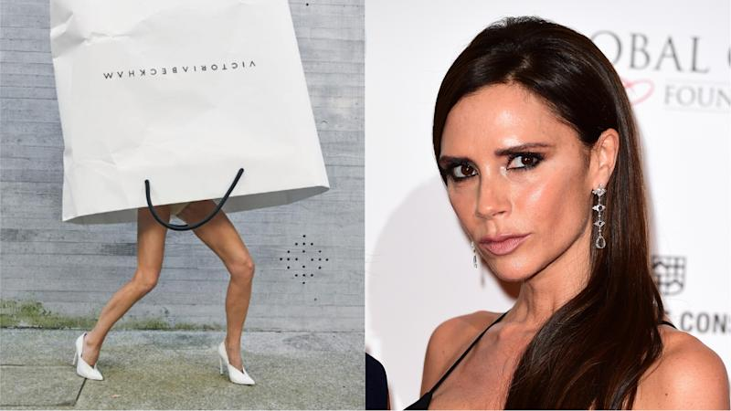 <p>The entertaining craze comes after a fashion shoot in which the designer wore a giant carrier bag.</p>