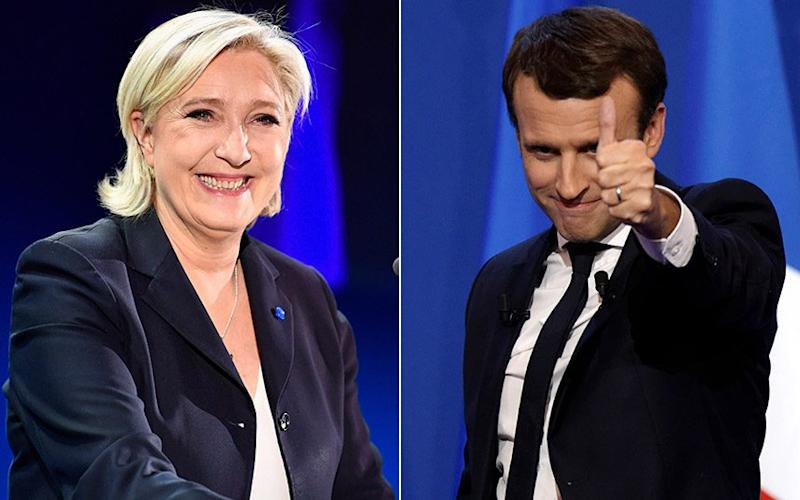 Macron should beat Le Pen in the second round of voting