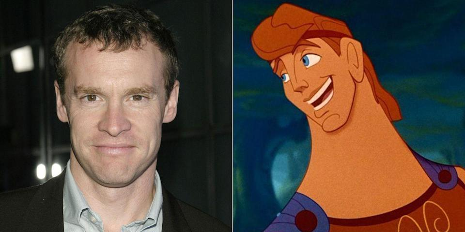 """<p>Tate Donovan, who memorably played Marissa Cooper's dad on<em> The O.C.</em>, voiced the titular Greek hero of 1997's <em>Hercules</em>. That wasn't him singing """"Go the Distance"""" though—Tony winner Roger Bart took on those musical duties.</p>"""