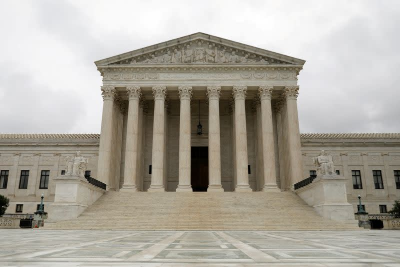 FILE PHOTO: FILE PHOTO: The Supreme Court of the United States is seen in Washington, D.C.