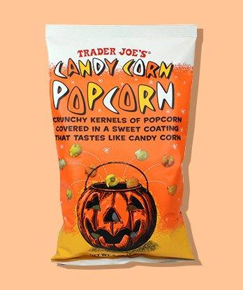 I Tried Trader Joe's New Candy Corn Popcorn, and It's the Perfect Salty-Sweet October Treat