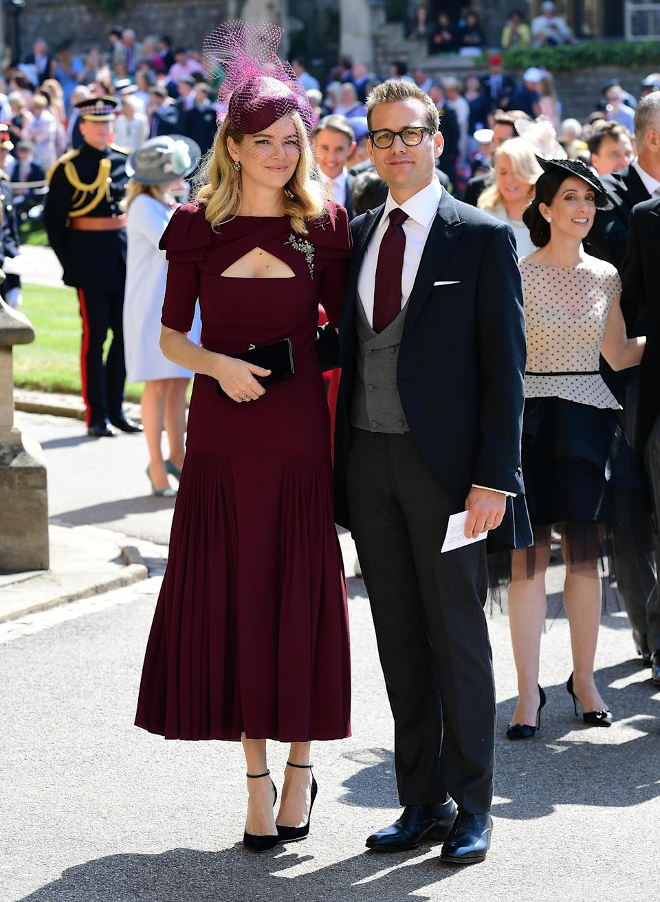 <p>Gabriel's another of Meghan's former co-stars. The 46-year-old continues to play lead character Harvey Spector in the show. <em>[Photo: Getty]</em> </p>