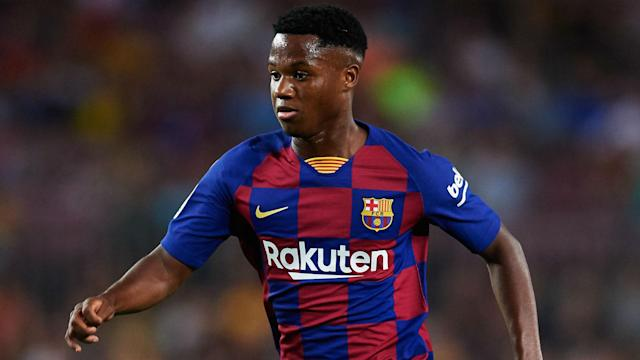 Barcelona have confirmed Ansu Fati's new €170million release clause will rise to €400m when he signs full professional terms at Camp Nou.