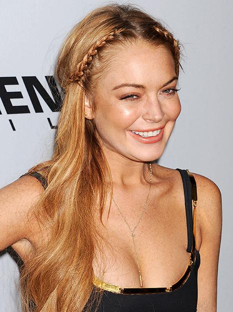 Lindsay Lohan Launches Website, Thanks Fans For Support Post-Rehab