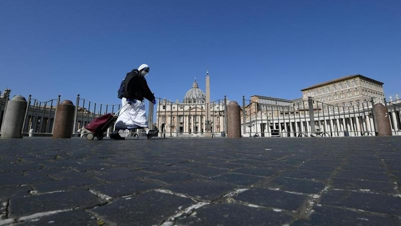 'Stay home during Holy Week': Italy authorities insist lockdown is not over
