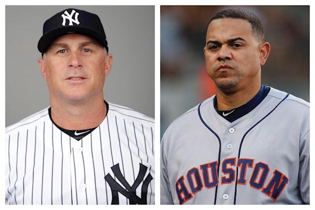 Bad blood! Yankees' Phil Nevin wanted to beat up Astros' Alex Cintron over bird flip