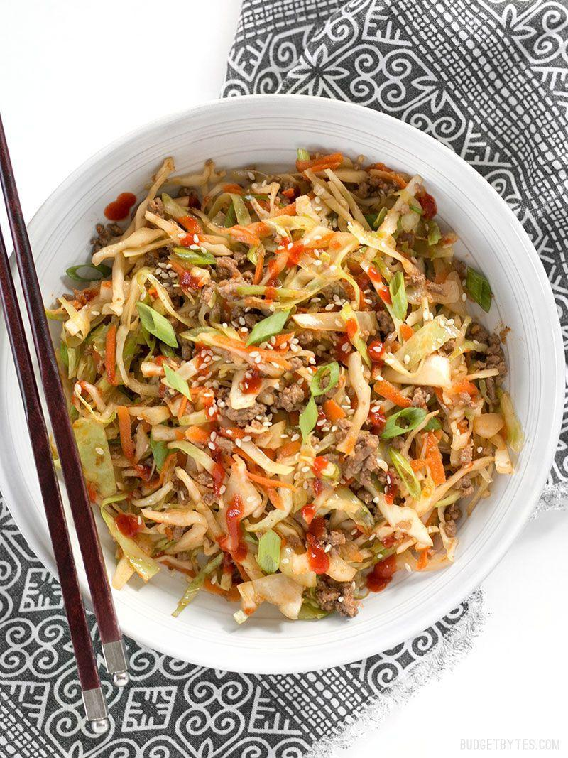 """<p>Cabbage is the stir-fry ingredient you've been missing.</p><p>Get the recipe from <a href=""""https://www.budgetbytes.com/2016/08/beef-cabbage-stir-fry/comment-page-2/#comments"""" rel=""""nofollow noopener"""" target=""""_blank"""" data-ylk=""""slk:Budget Bytes"""" class=""""link rapid-noclick-resp"""">Budget Bytes</a>.</p>"""