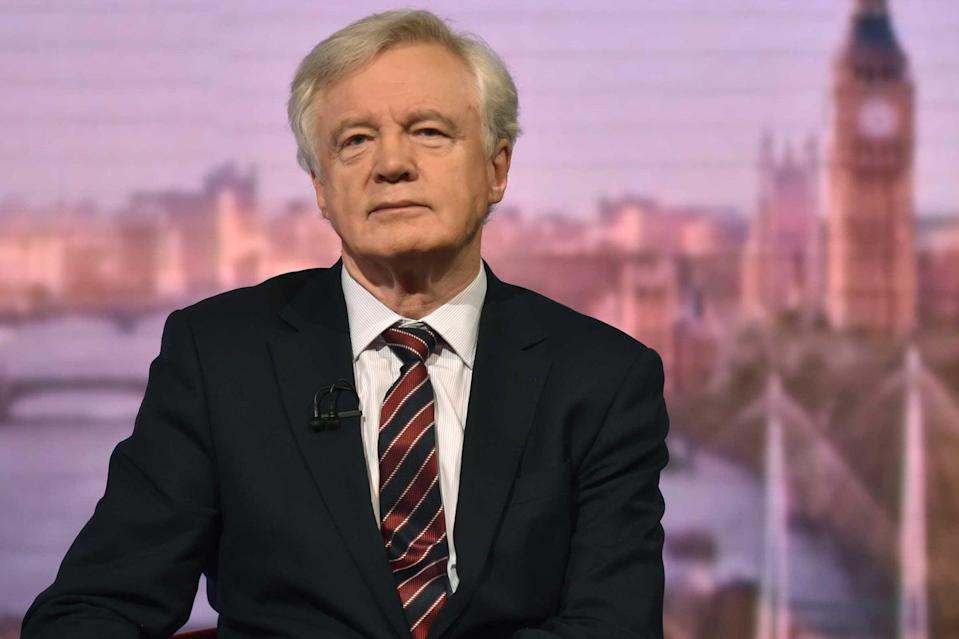 <p>David Davis has joined calls for the government to ditch plans to cut foreign aid</p> (PA)