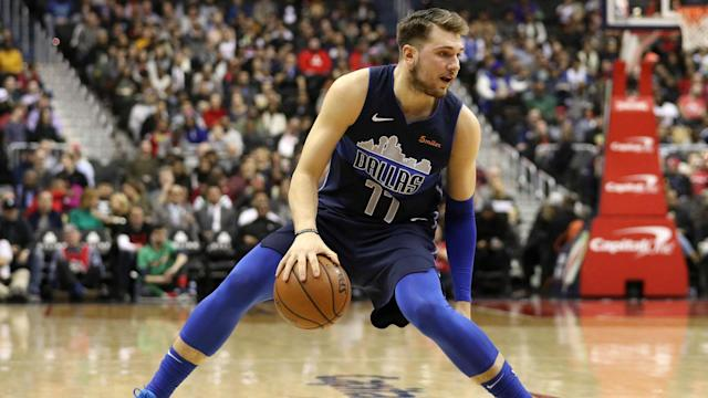 Luka Doncic, 19, has Ben Simmons' vote in this season's Rookie of the Year race.