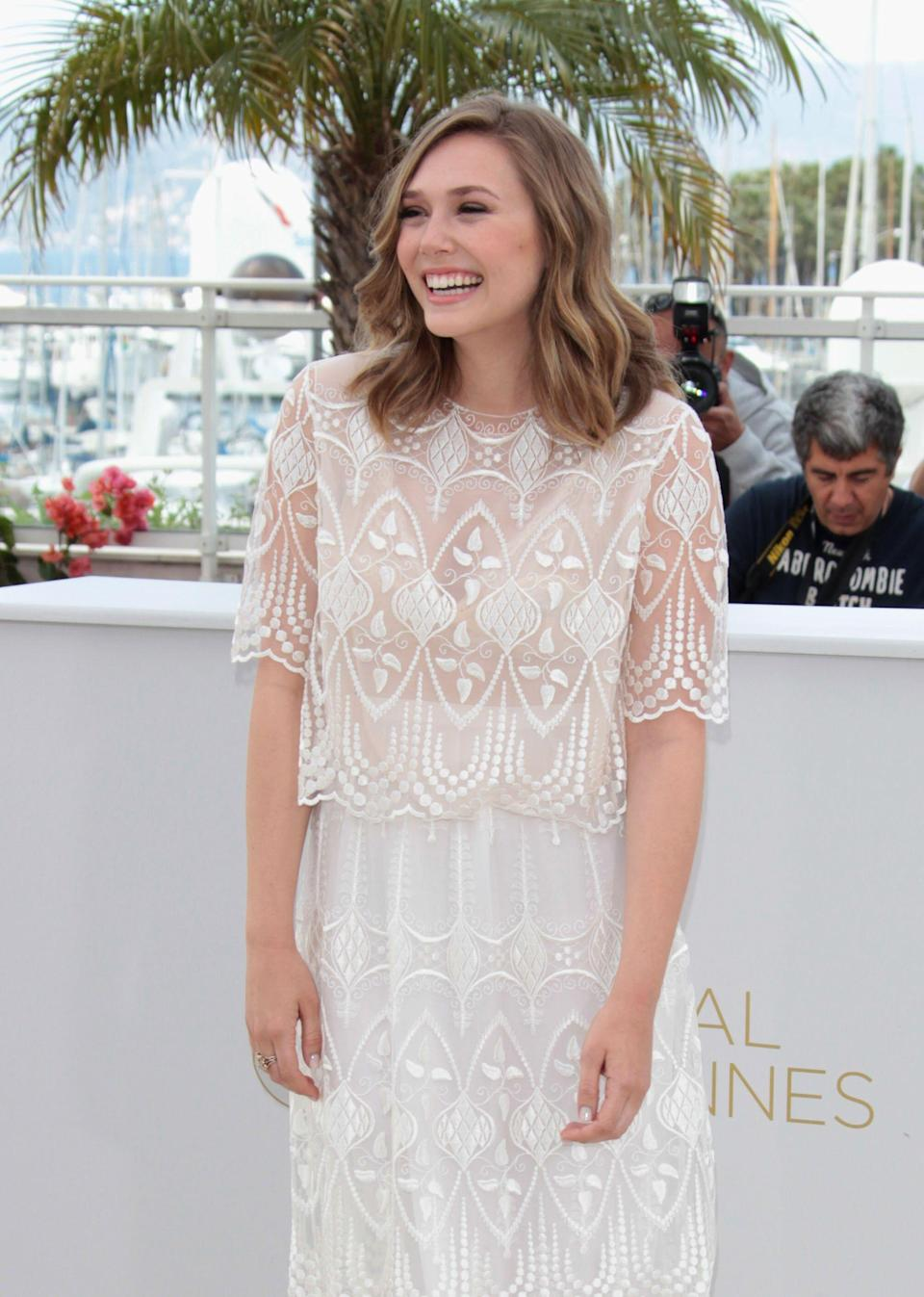 """Olsen at a photocall for """"Martha Marcy May Marlene"""" in Cannes, France, on May 15, 2011."""