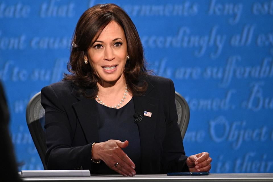 US Democratic vice presidential nominee Kamala Harris. (Photo: ROBYN BECK via Getty Images)