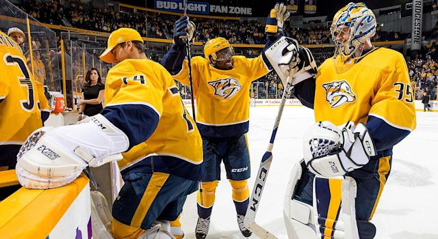 Raise your hand if you think the Predators are the best team in the Western Conference? (John Russell/Getty Images)