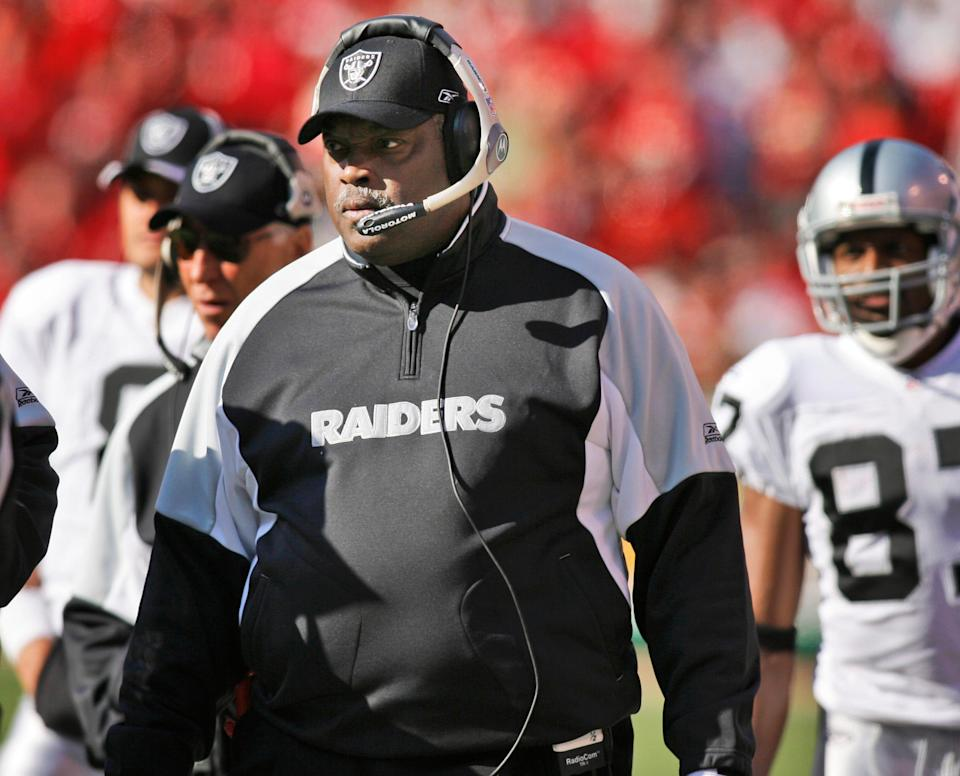 Art Shell coached the Raiders in Los Angeles from 1989-94 and again in Oakland in 2006.