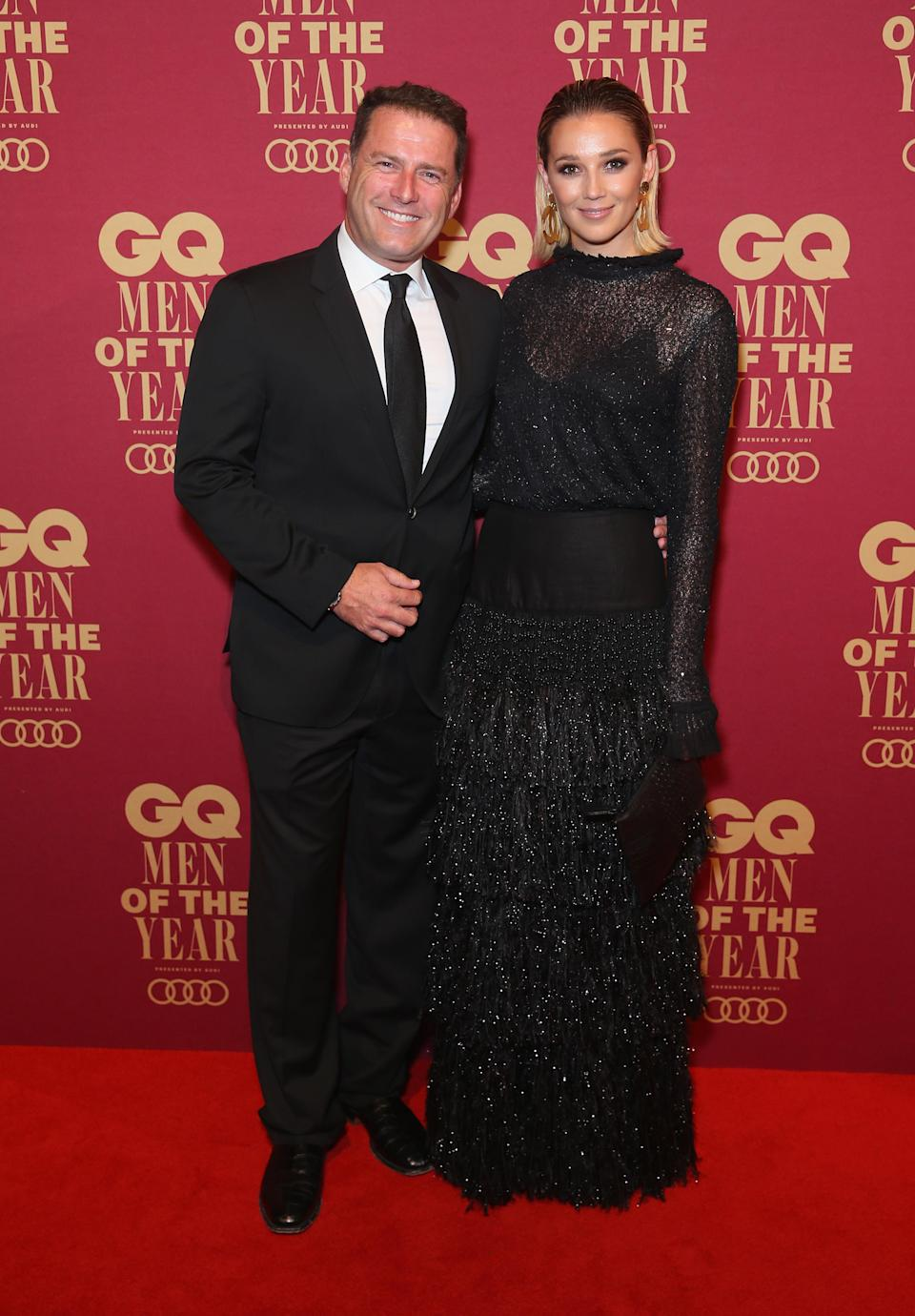 Karl married Jasmine Yarbrough last week in a lavish wedding in Mexico. Photo: Getty Images
