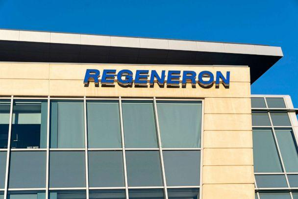 PHOTO: The Corporate and Research and Development Headquarters of Regeneron Pharmaceuticals stands on Old Saw Mill River Road in Tarrytown, N.Y., Oct.10, 2020. (Pacific Press via Getty Images)