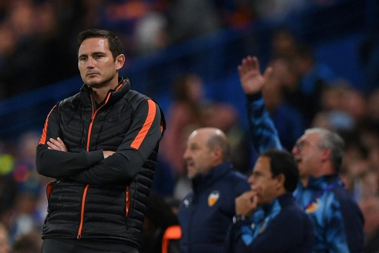 Frank Lampard is yet to win at Stamford Bridge as Chelsea manager